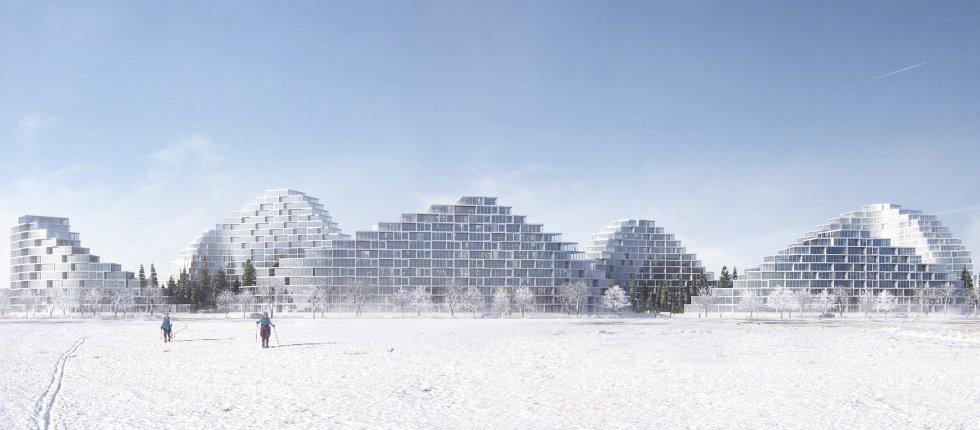 Stambeni blok u Bratislavi svojom formom imitira planine