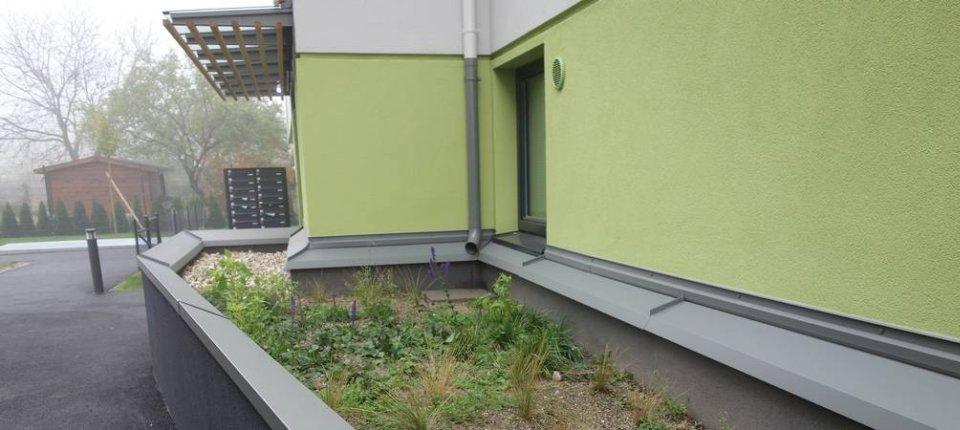 Kišnica je prirodni klima-uređaj ove zgrade u Beču