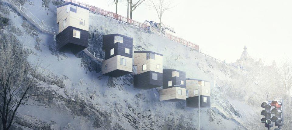 Zaboravite na kućice na drvetu. Budućnost su kuće na litici!