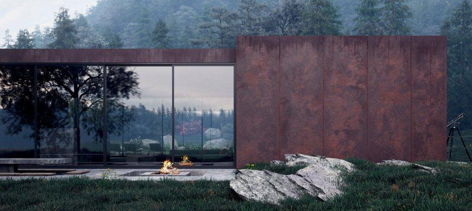 Moć renderinga na primeru kuće od betona