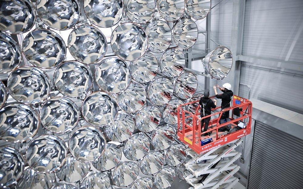 Najveće veštačko Sunce na svetu zasijalo u Nemačkoj