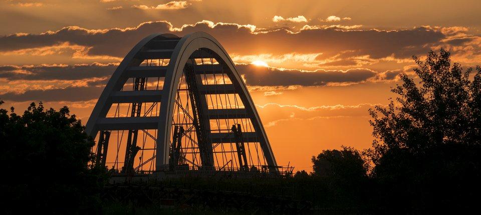 Fotografija dana: Novi Žeželjev most u Novom Sadu