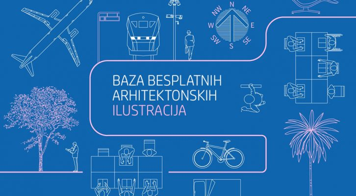 Baza besplatnih arhitektonskih ilustracija u DWG formatu