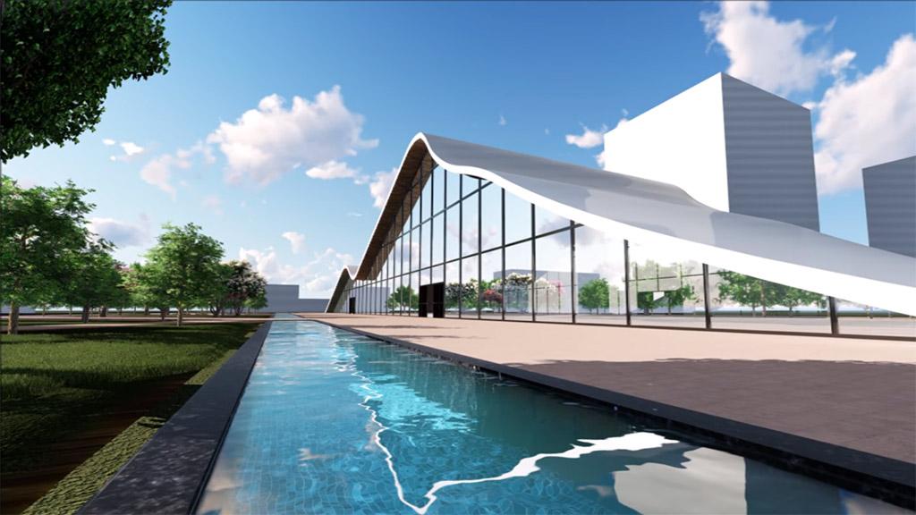 Predstavljeno rešenje valovitog kulturnog centra za Novi Sad 2021