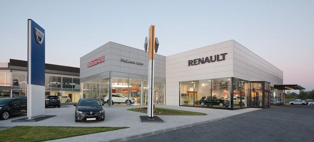 Projekat auto salona grupacije Renault Nissan u Novom Sadu