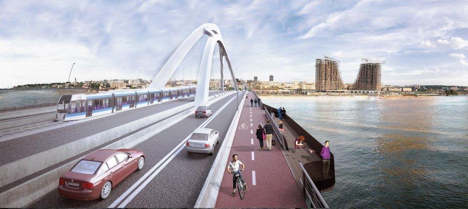 Ovako će izgledati novi Stari savski most