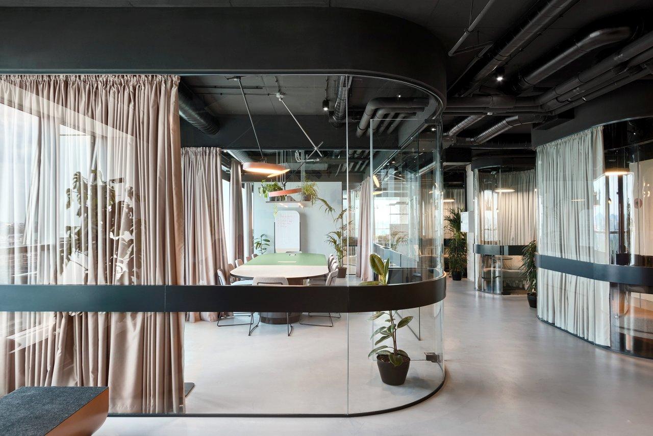 Enterijer kancelarija firme Catena Media u Beogradu