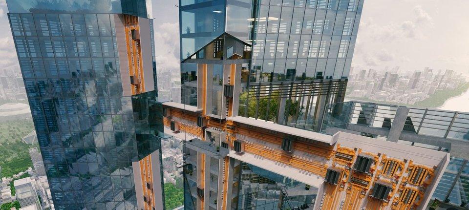 Liftovi koji se kreću horizontalno postaju realnost
