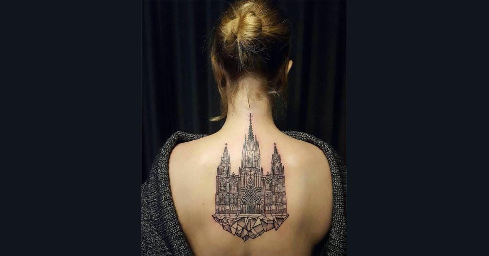 30 impresivnih arhitektonskih tetovaža