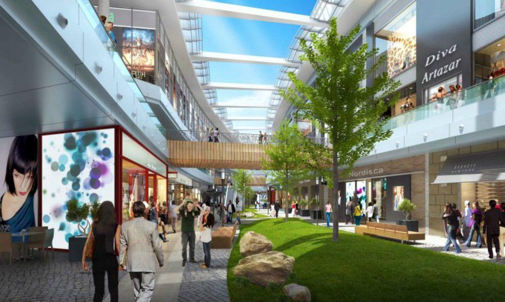 Tržni centar koji postaje otvoreni prostor samo jednim pritiskom dugmeta