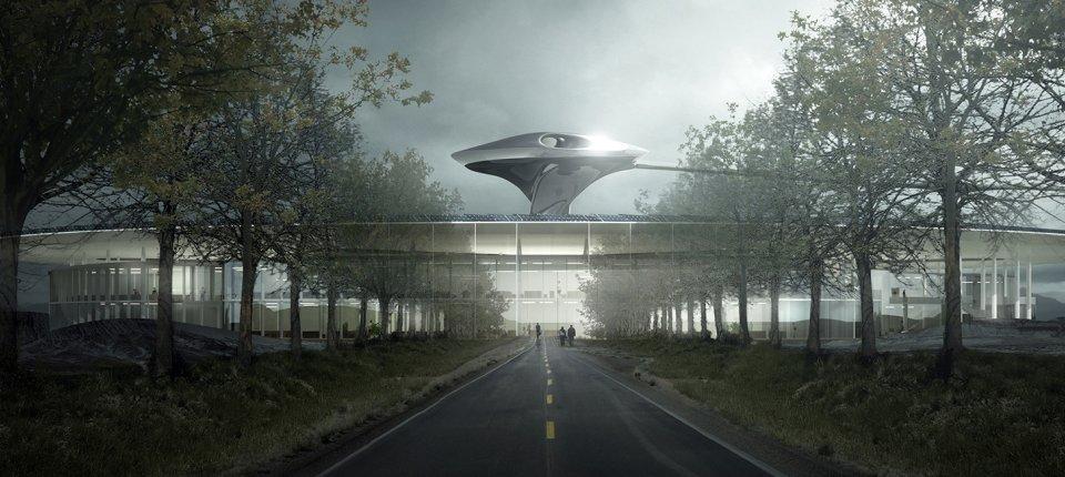 Projekat iz naučne fantastike: Nova centrala poznate američke auto kompanije
