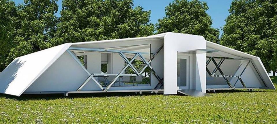 Ova neverovatna kuća sastavlja se sama za samo 8 minuta