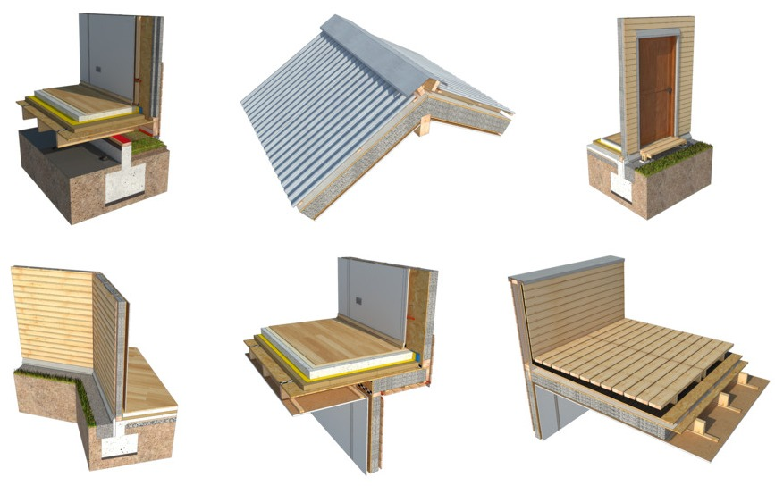 Od temelja do krova: Detalji u drvenim konstrukcijama u 2D i 3D