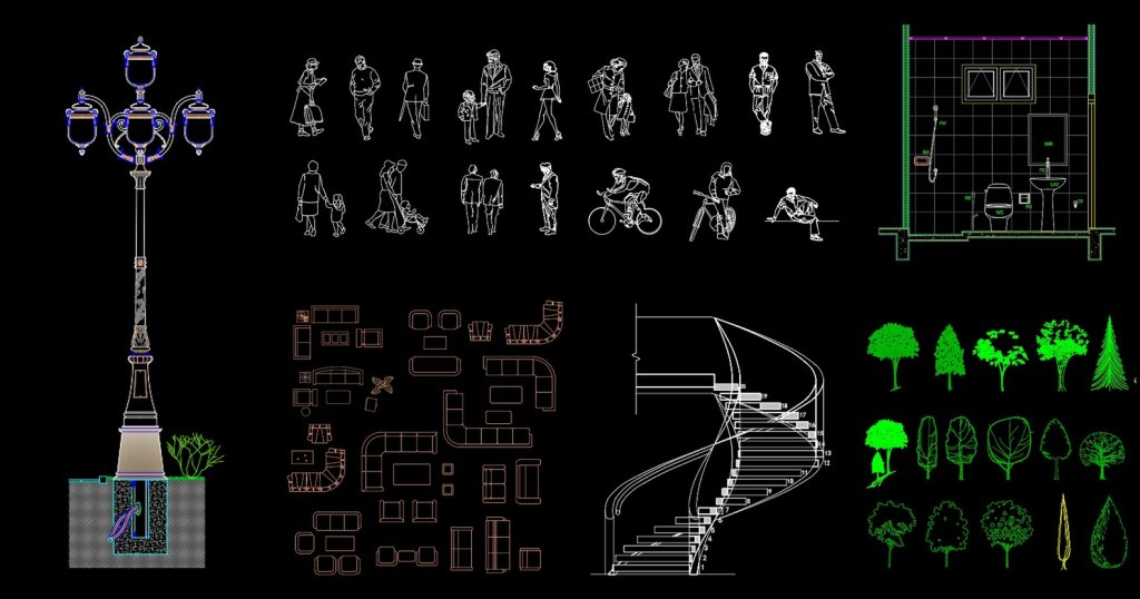 Začinite vaše CAD crteže besplatnim blokovima iz LineCAD baze