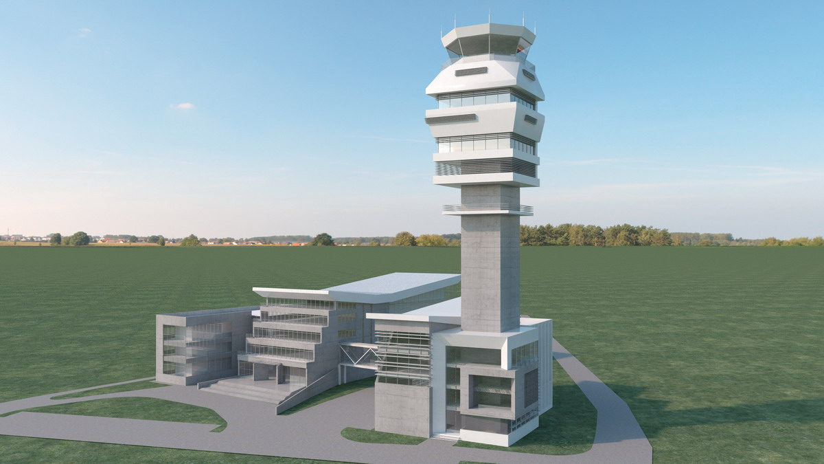 Novi kontrolni toranj na aerodromu Nikola Tesla među 10 najviših na svetu