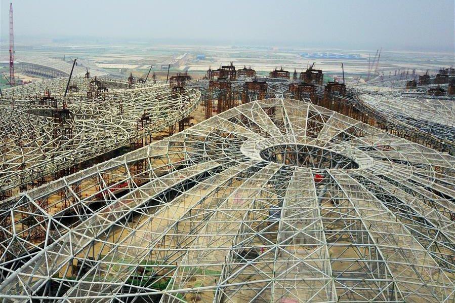Pogledajte gradilište aerodroma u Pekingu po projektu Zaha Hadid Architects