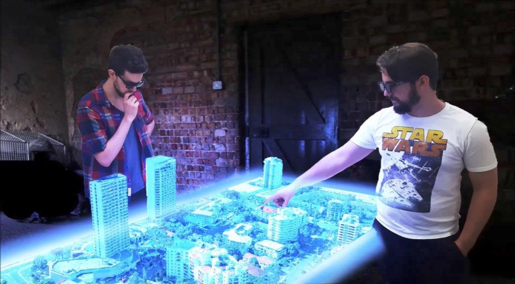 Ovako izgleda prvi hologramski sto koji može biti vaš za 40.000 evra