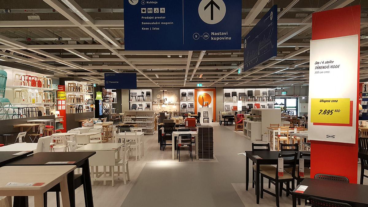 Otvaramo vrata prve robne kuće IKEA u Srbiji (FOTO)