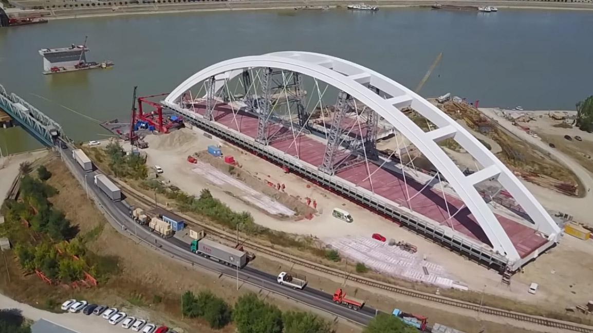 Pratite uživo lansiranje luka na novom Žeželjevom mostu
