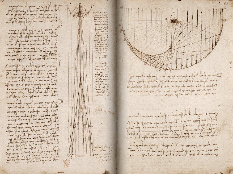 Rukopisi Leonarda da Vinčija postali dostupni na internetu