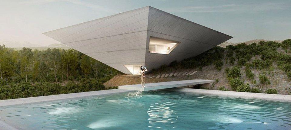 Zgrade u obliku izvrnute piramide niču u Španiji