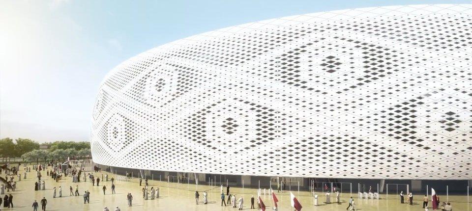 Stadion u Kataru koji izgleda kao arapska kapa