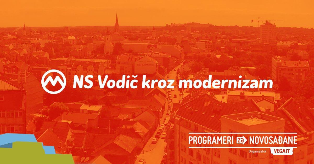Podržite akciju da Novi Sad dobije vodič kroz modernizam grada
