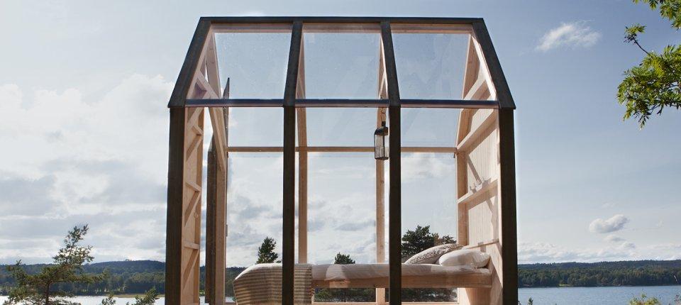 Transparentna kabina koja testira koliko blizina prirode utiče na kvalitet života