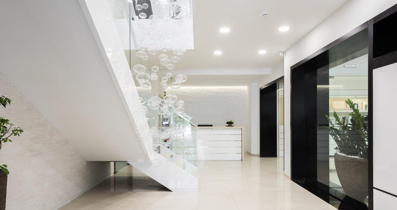 Enterijer poslovnog prostora modne kuće Luna