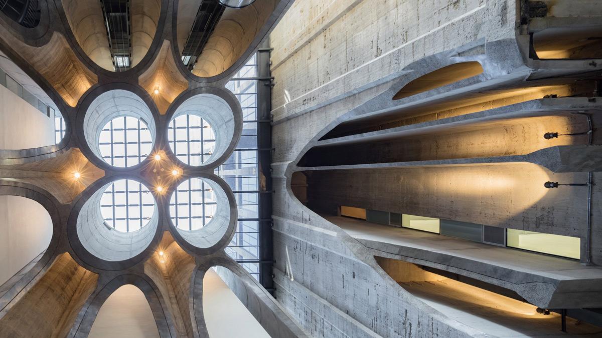 Stari silos za žitarice pretvoren u spektakularnu galeriju