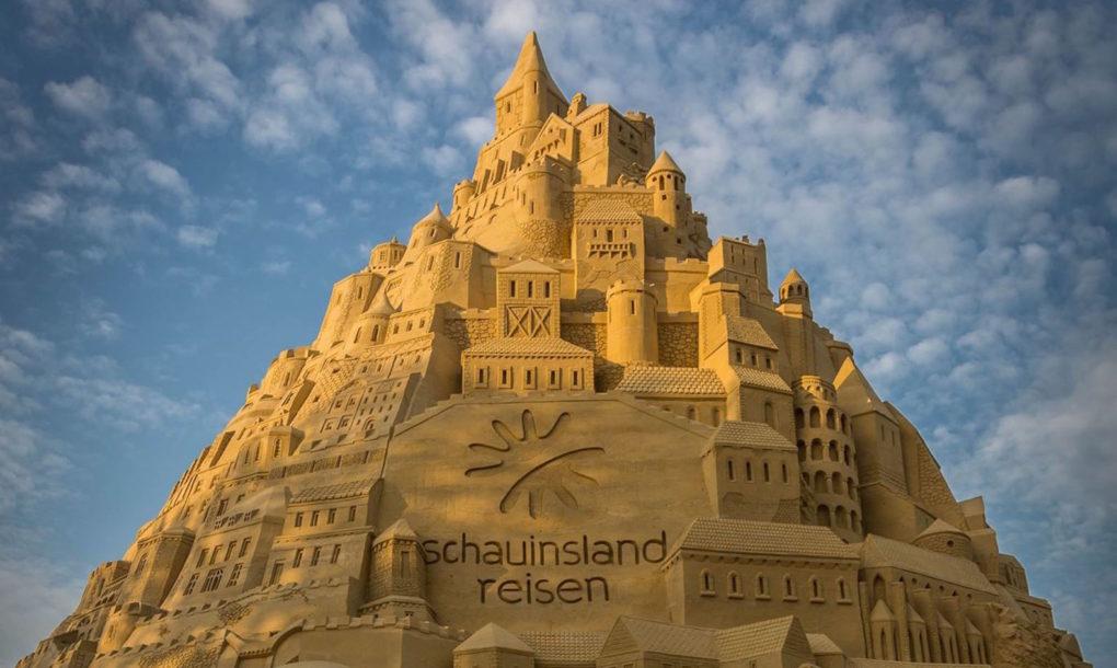 Najviši zamak na svetu po Ginisu… ali od peska!