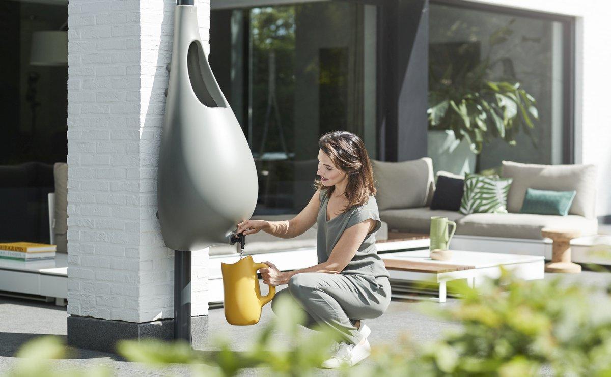 Kolektor za kišnicu koji će ulepšati vaše dvorište ili terasu