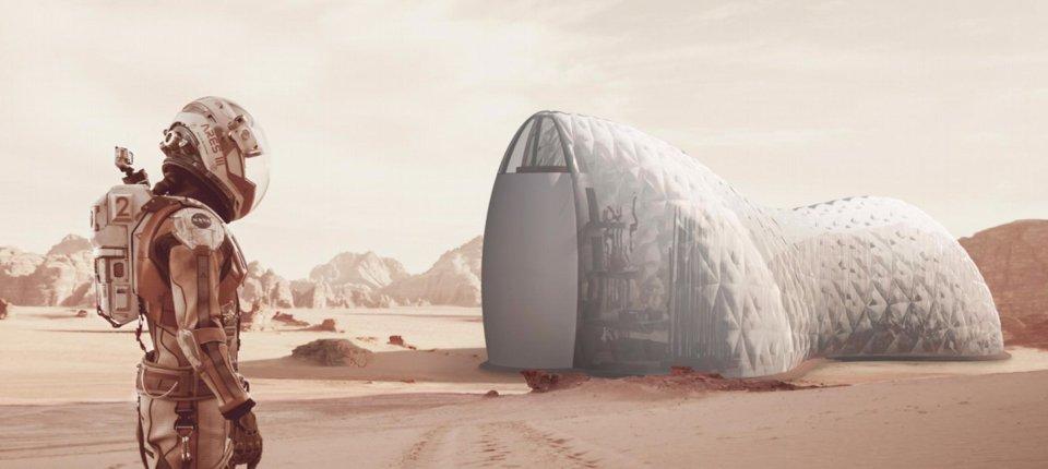 Prefabrikovani domovi za buduće stanovnike Marsa