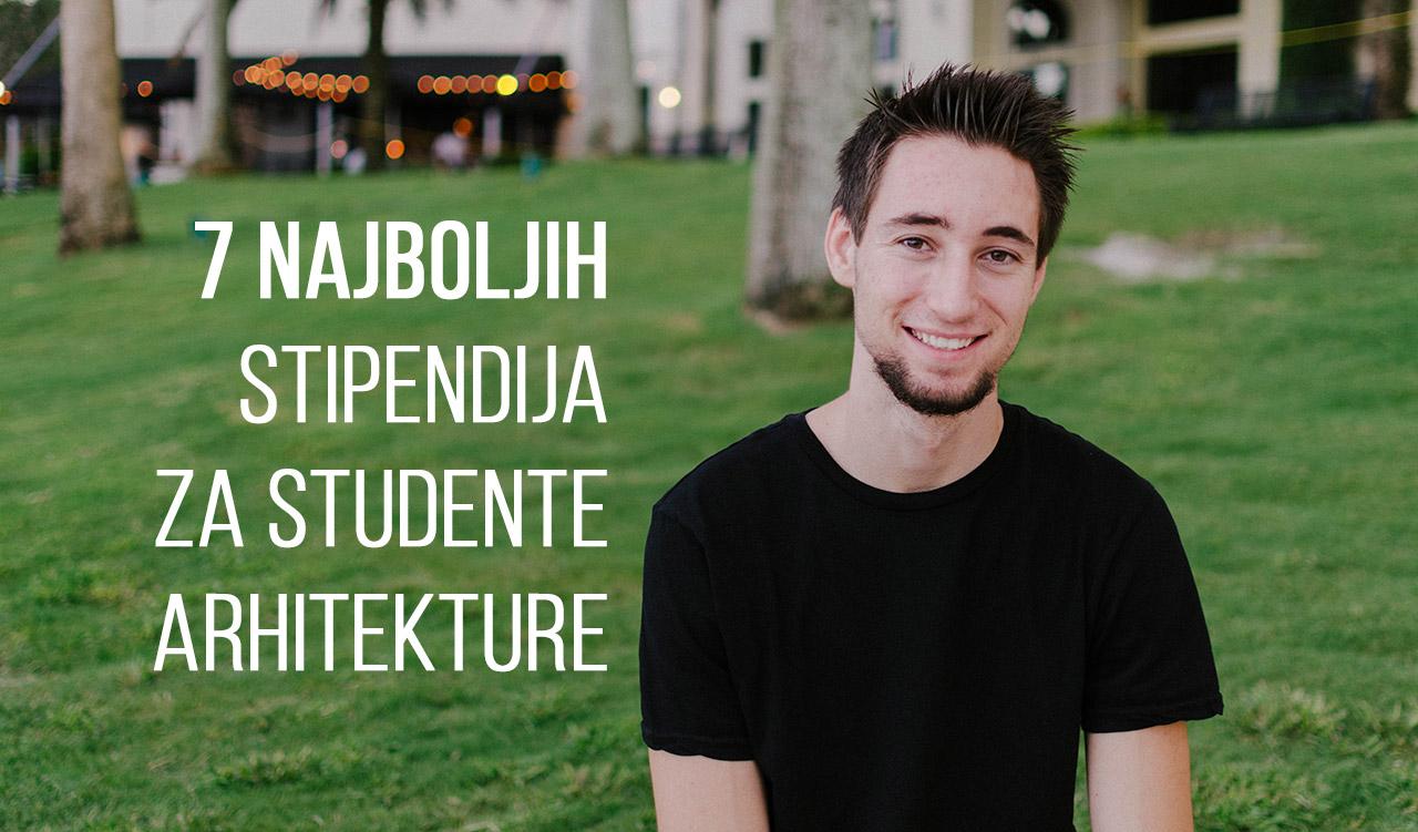 7 najboljih svetskih stipendija koje možete dobiti kao student arhitekture