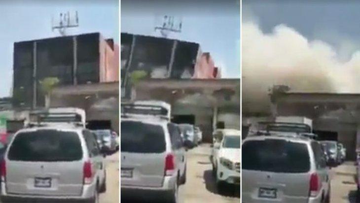 Snimci zgrada koje padaju kao pokošene usled zemljotresa u Meksiku