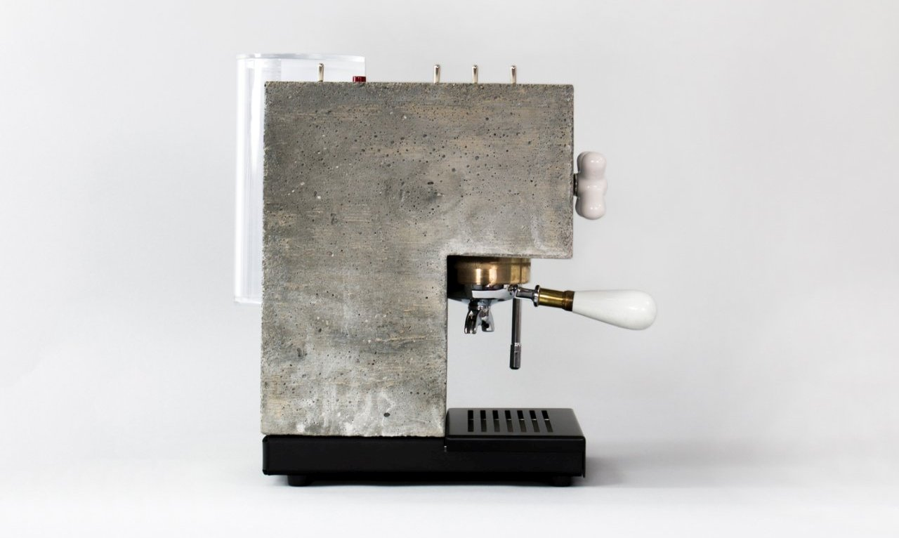 Espresso aparat od betona koji kao da je pravljen za Instagram