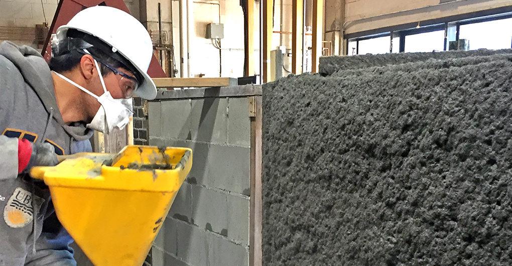 Beton od prašine koji čini zgradu otpornom na zemljotrese