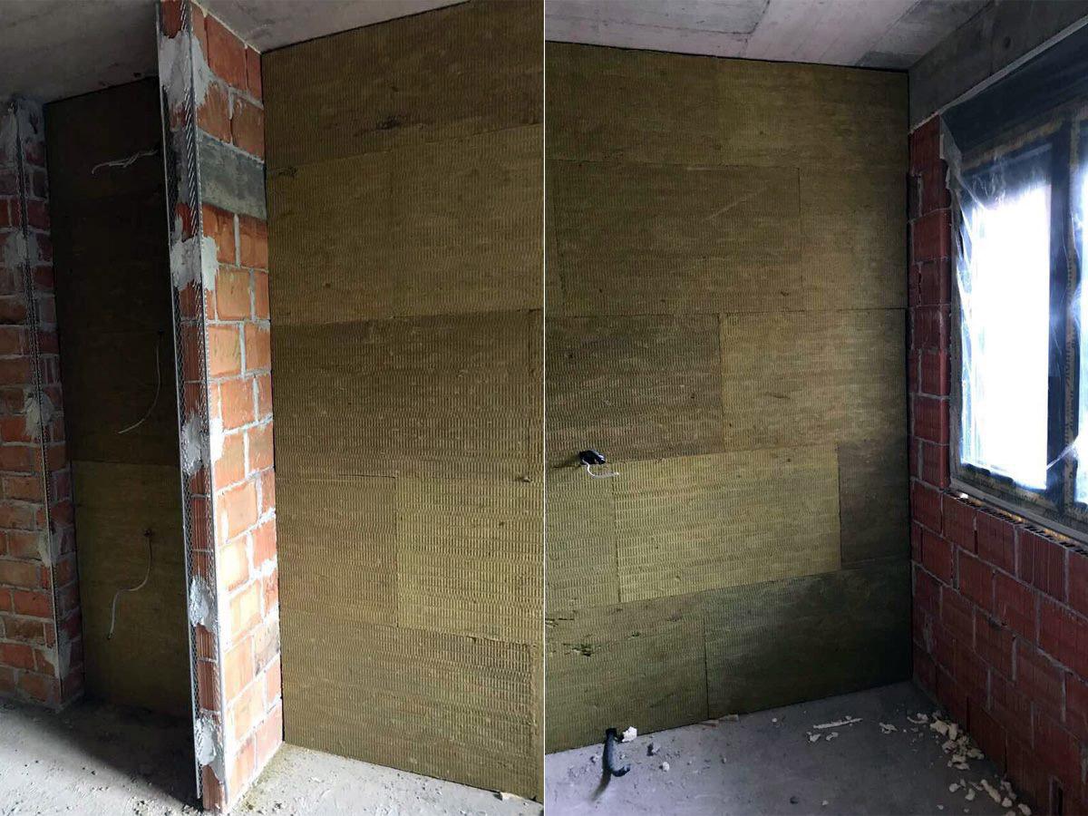 Izolacija stambenog prostora kamenom vunom