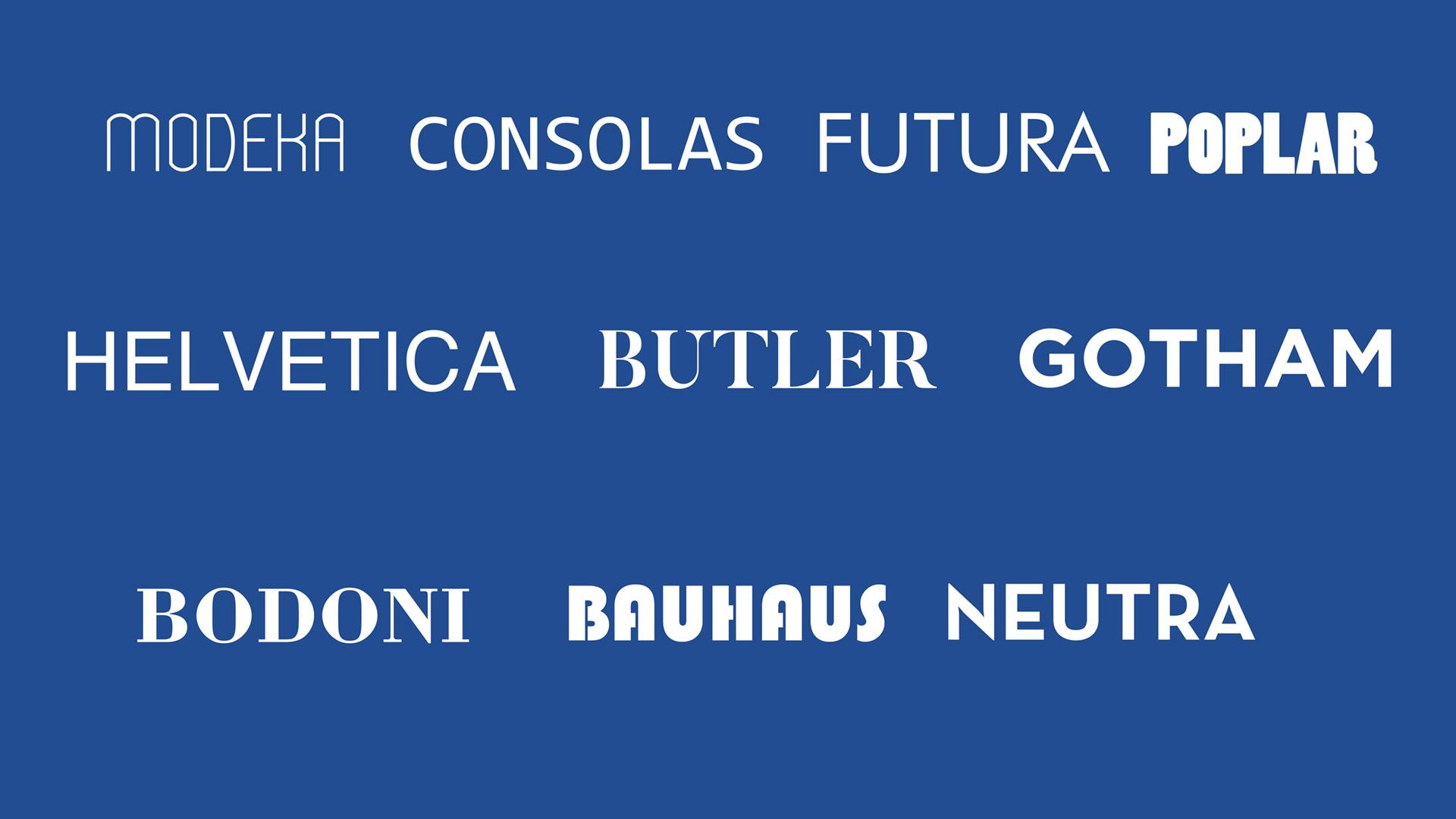 10 najboljih fontova za arhitekte