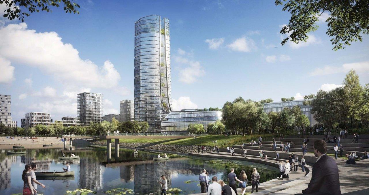 Foster projektuje novu najvišu zgradu u Budimpešti