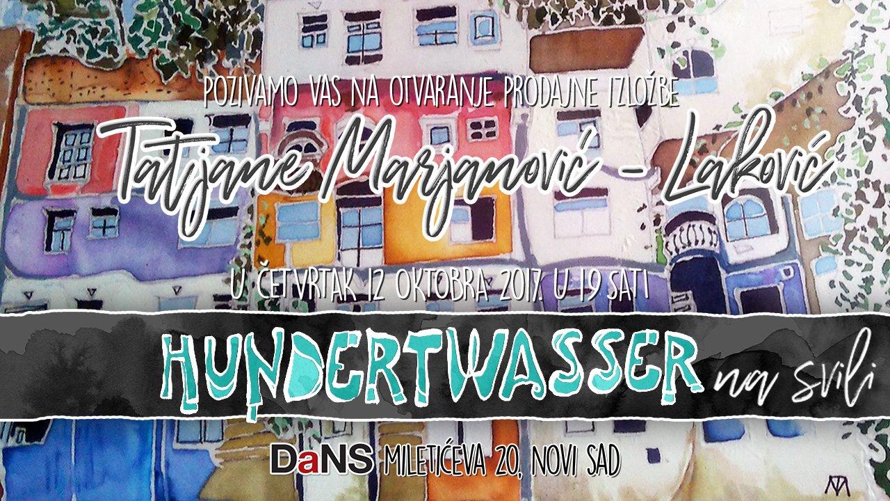 Izložba Hundertwasser na svili u Novom Sadu od 12. oktobra