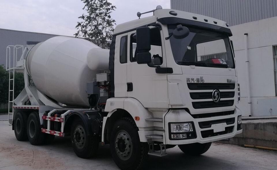 Prvi kamion s mešalicom za beton na hibridni pogon