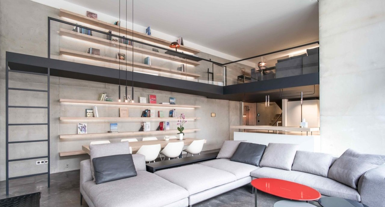 Dupliranje korisnog prostora stana pomoću metalne galerije
