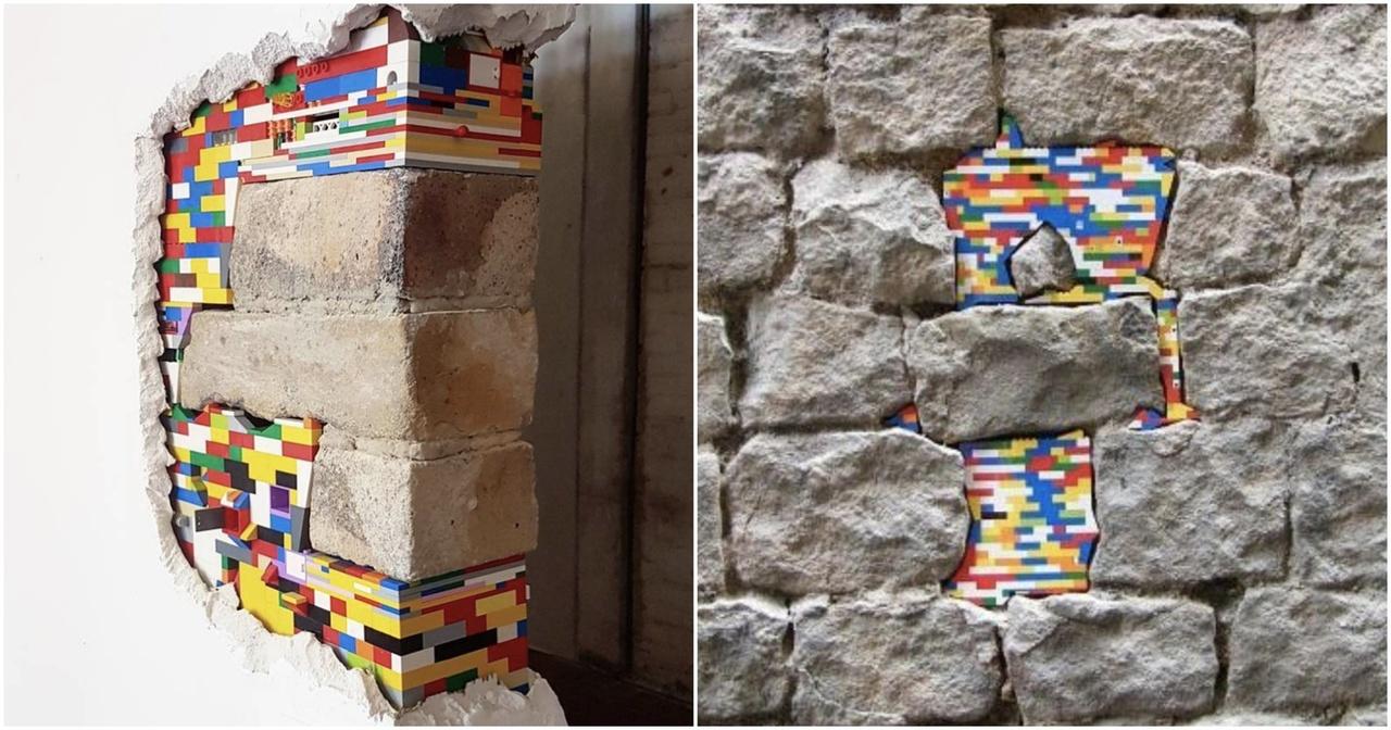 Akcija obnove trošnih objekta Lego kockicama i u našim gradovima?