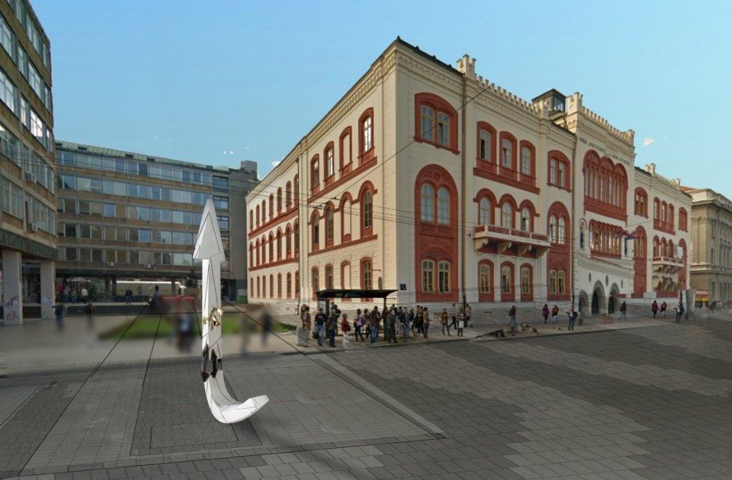 Ovako će izgledati spomenik Zoranu Đinđiću na Studentskom trgu