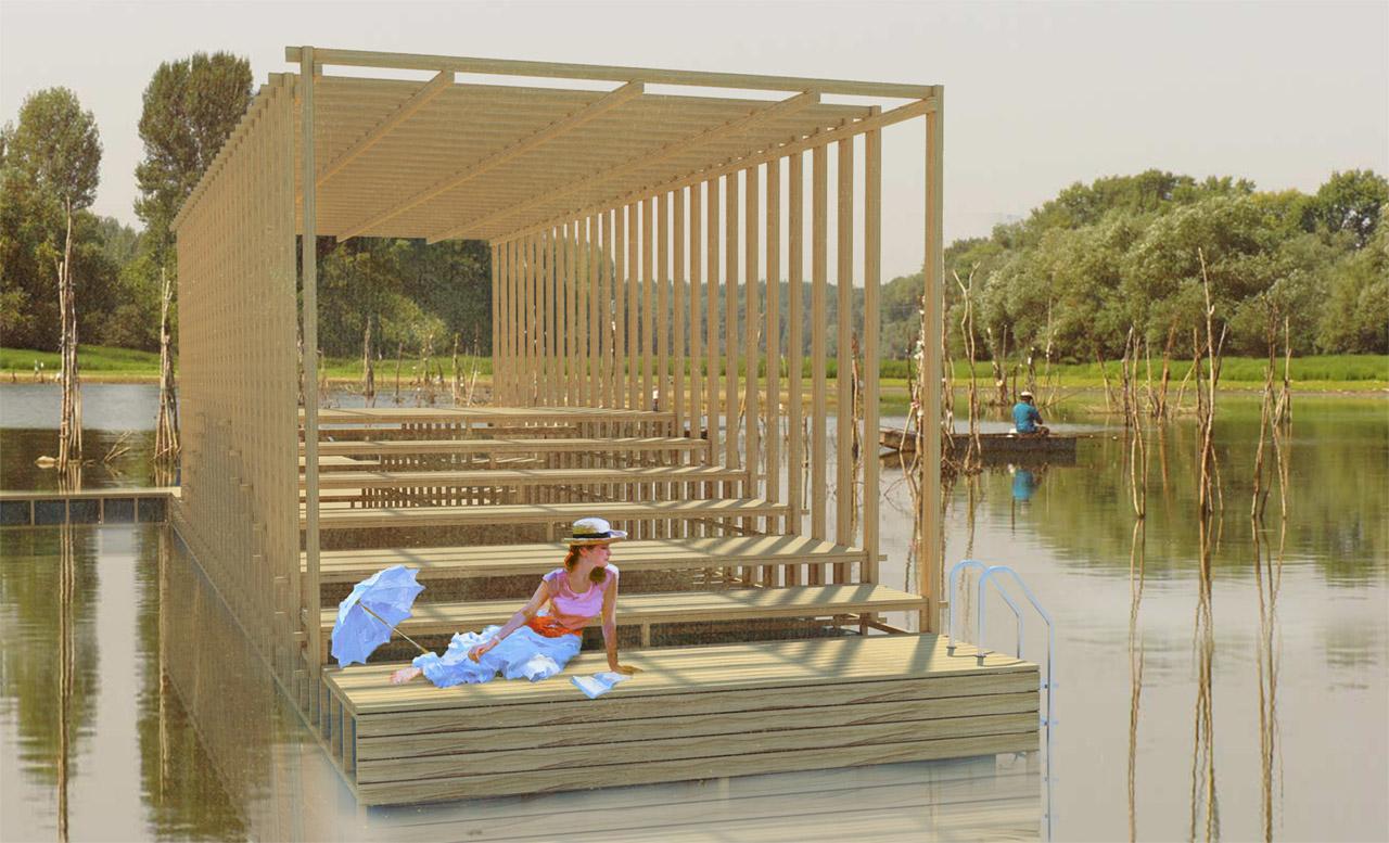 Novi Sad izlazi na Dunav pontonskom paviljonom s bioskopom