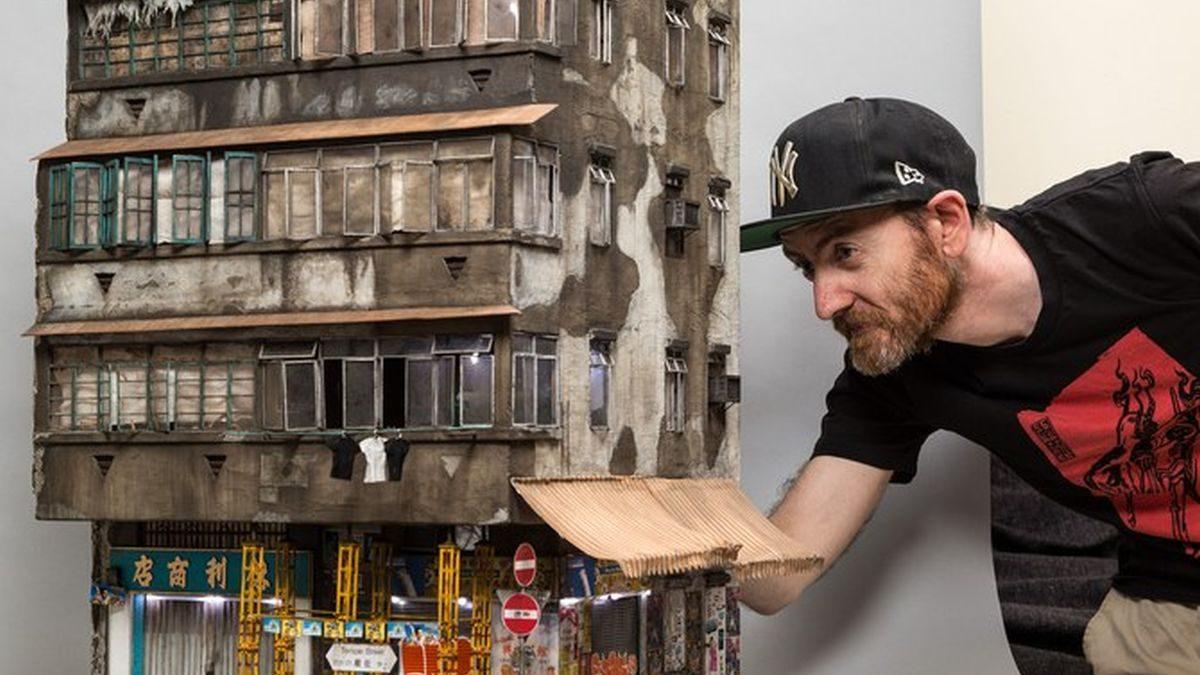 Makete zgrada… koje su u fazi raspadanja