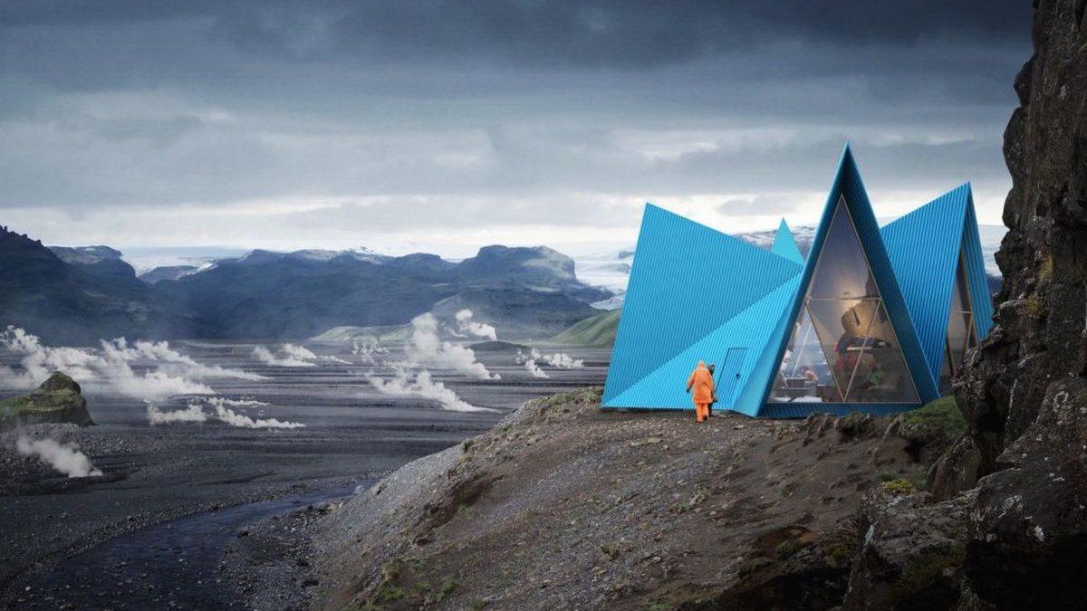 Šatorasta skloništa na Islandu koja se podižu u rekordnom roku
