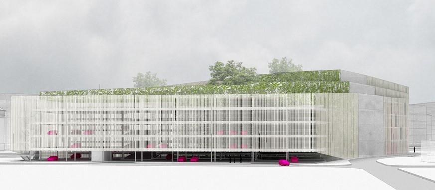 Nova javna garaža u Novom Sadu biće zelena oaza usred grada