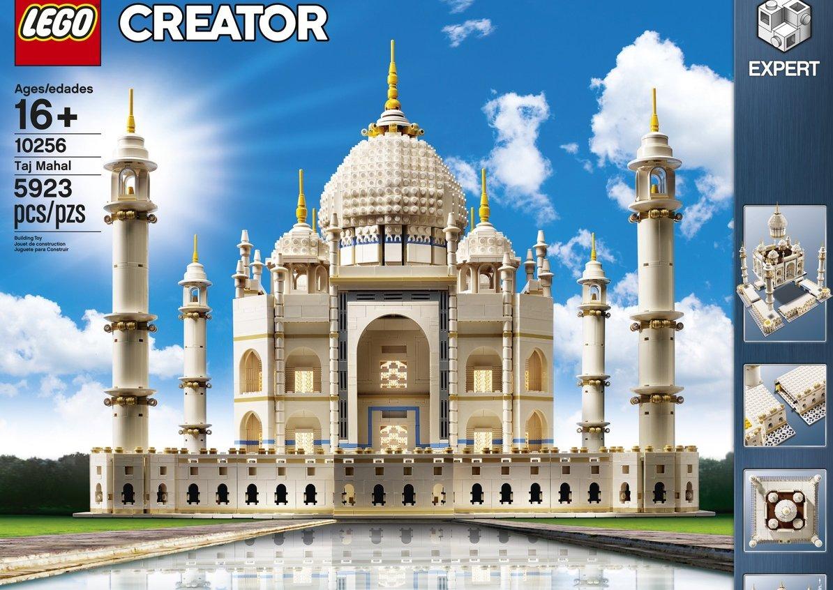 Skockajte Tadž Mahal od 6.000 delova